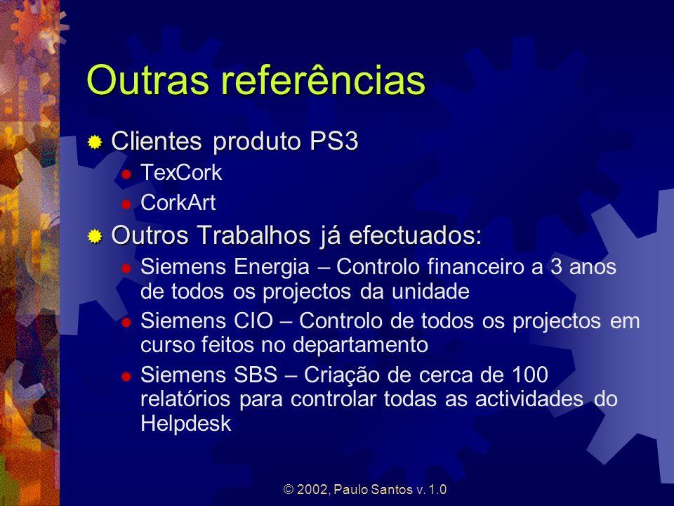 Outras referências Clientes produto PS3