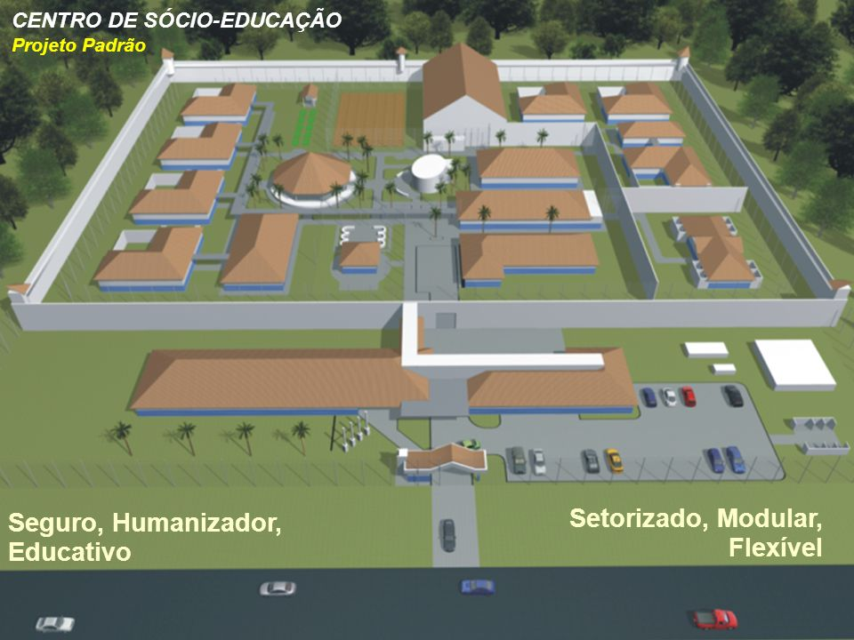 Seguro, Humanizador, Educativo Setorizado, Modular, Flexível