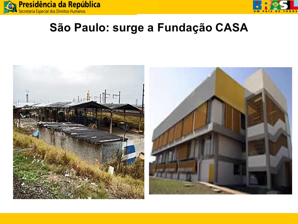 São Paulo: surge a Fundação CASA