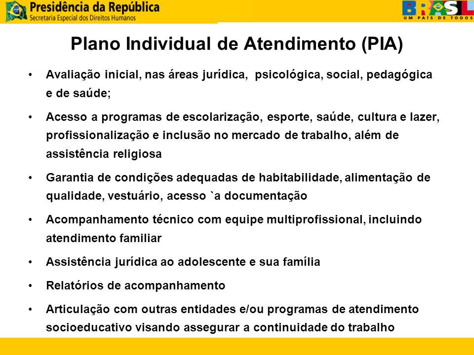 Plano Individual de Atendimento (PIA)
