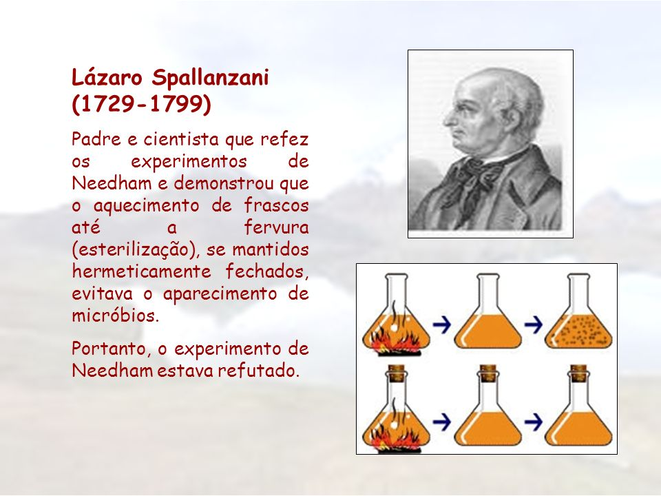 Lázaro Spallanzani (1729-1799)