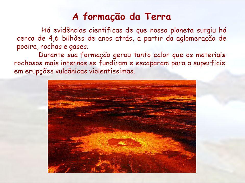 A formação da Terra