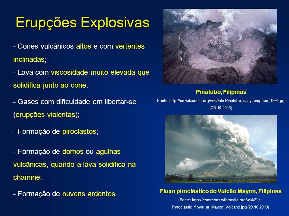 Fluxo piroclástico do Vulcão Mayon, Filipinas