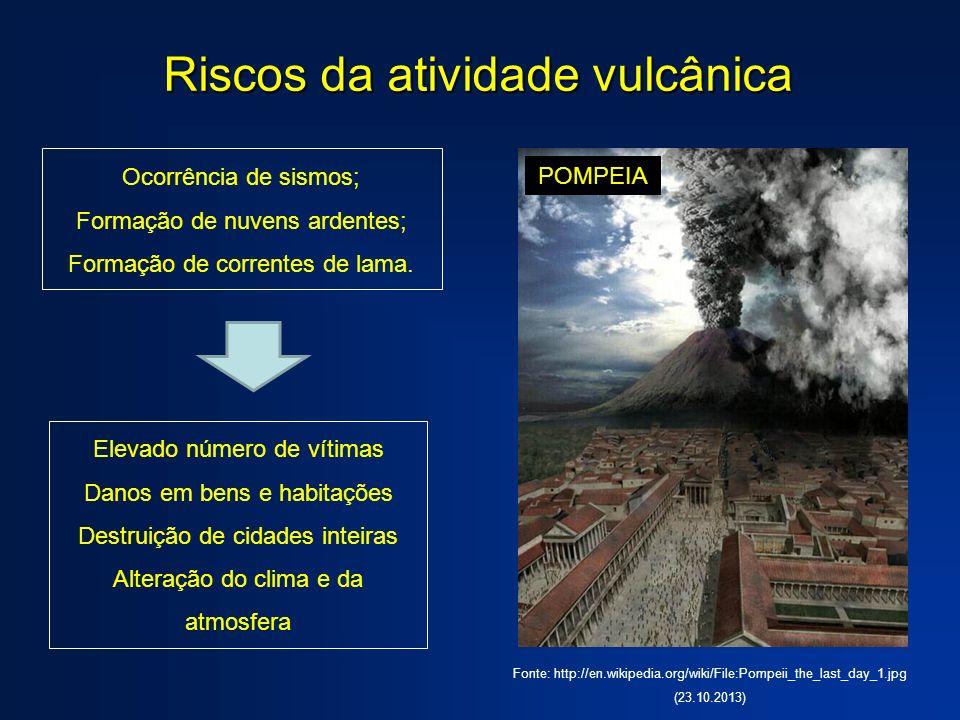Riscos da atividade vulcânica