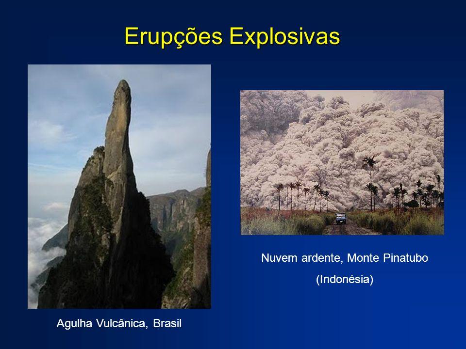 Erupções Explosivas Nuvem ardente, Monte Pinatubo (Indonésia)