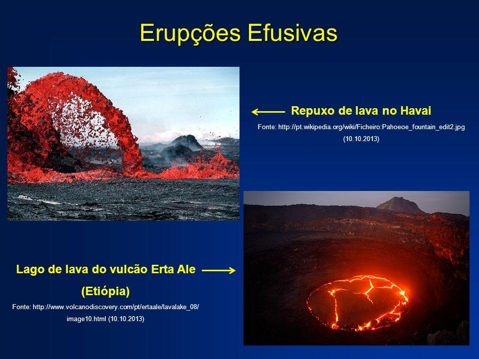 Lago de lava do vulcão Erta Ale (Etiópia)