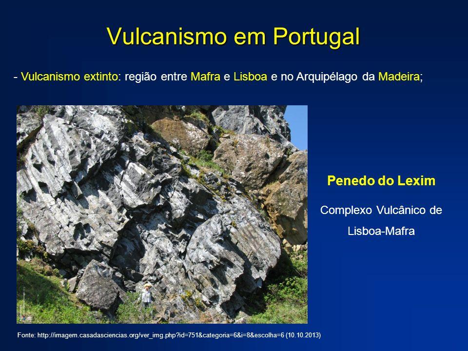 Vulcanismo em Portugal