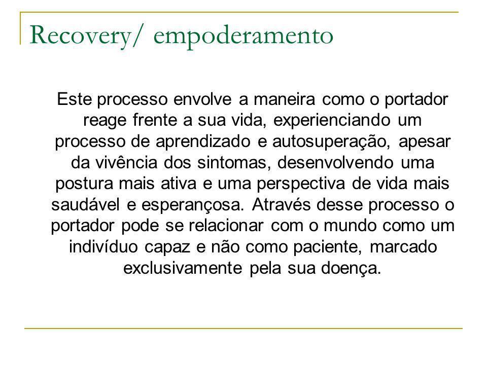 Recovery/ empoderamento
