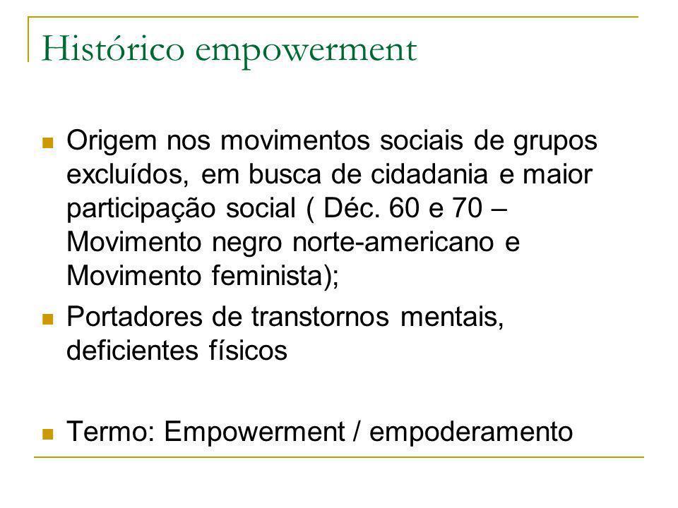 Histórico empowerment