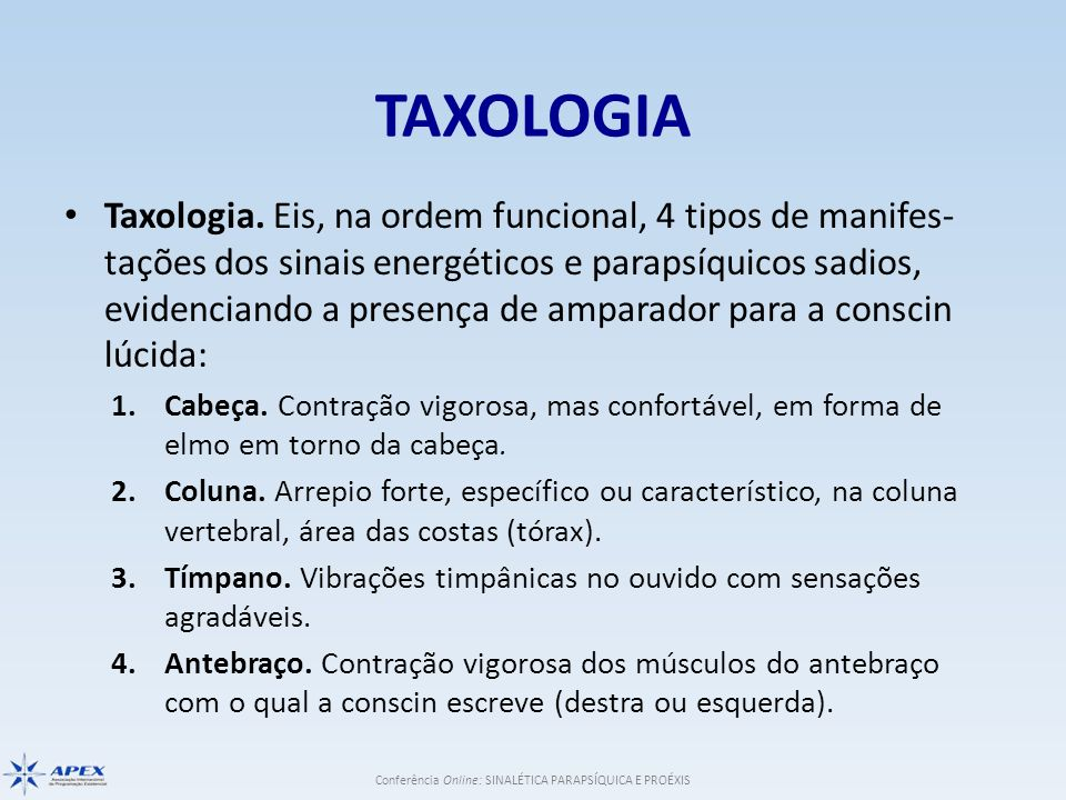 TAXOLOGIA