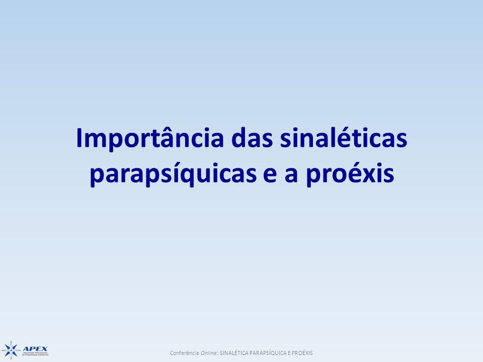 Importância das sinaléticas parapsíquicas e a proéxis