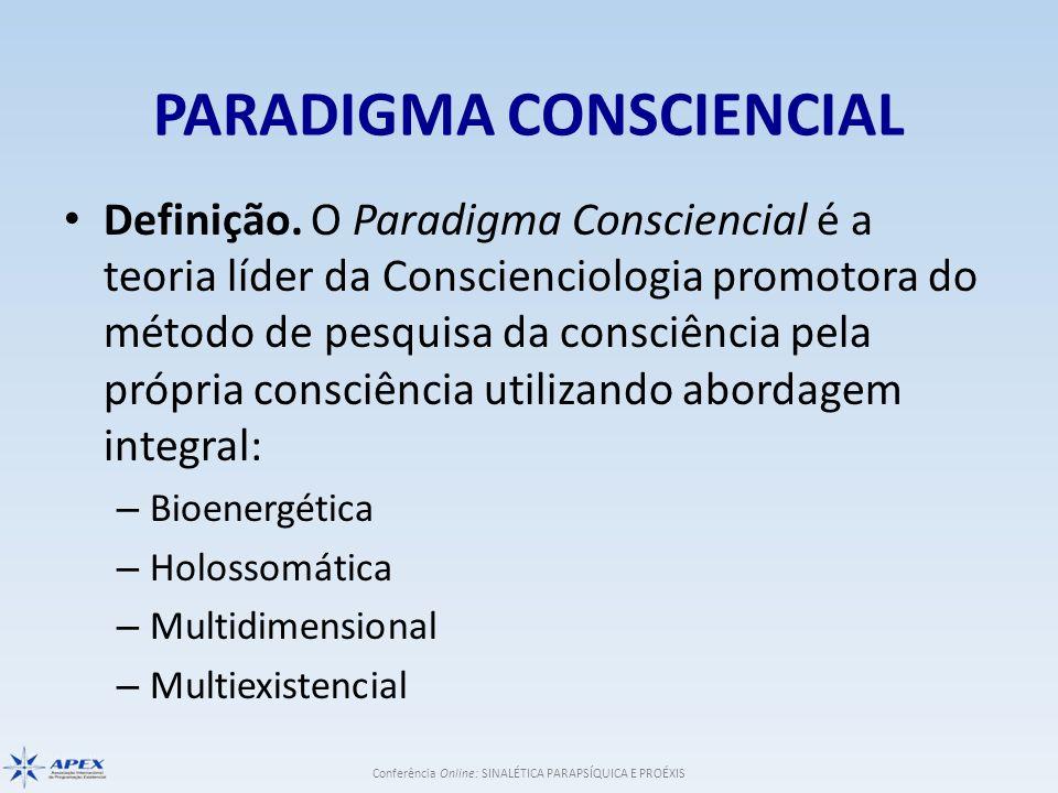 PARADIGMA CONSCIENCIAL