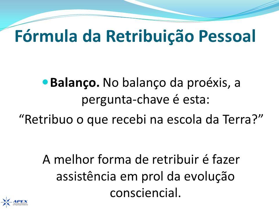 Fórmula da Retribuição Pessoal