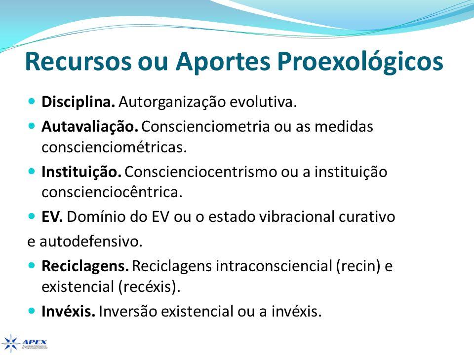 Recursos ou Aportes Proexológicos