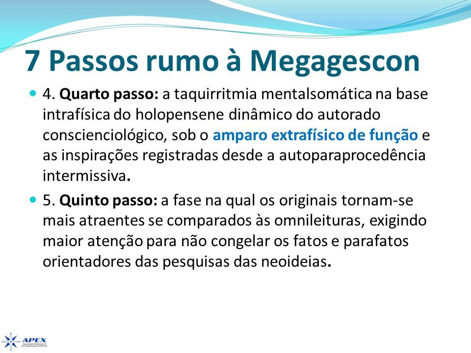 7 Passos rumo à Megagescon