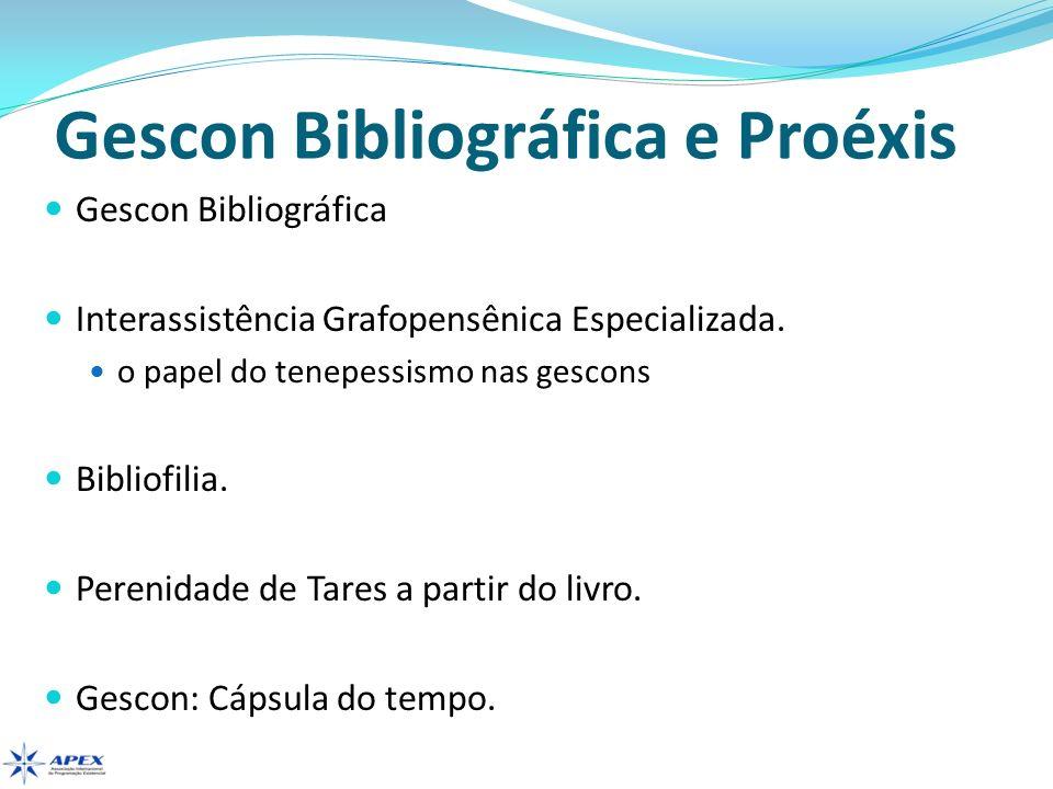 Gescon Bibliográfica e Proéxis