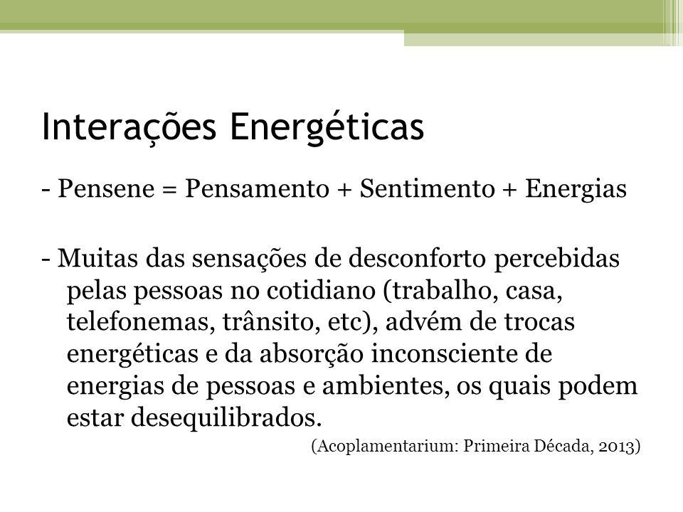 Interações Energéticas