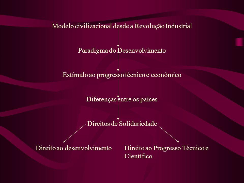 Modelo civilizacional desde a Revolução Industrial