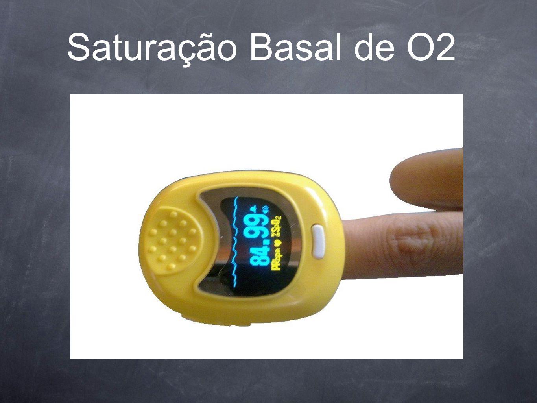 Saturação Basal de O2