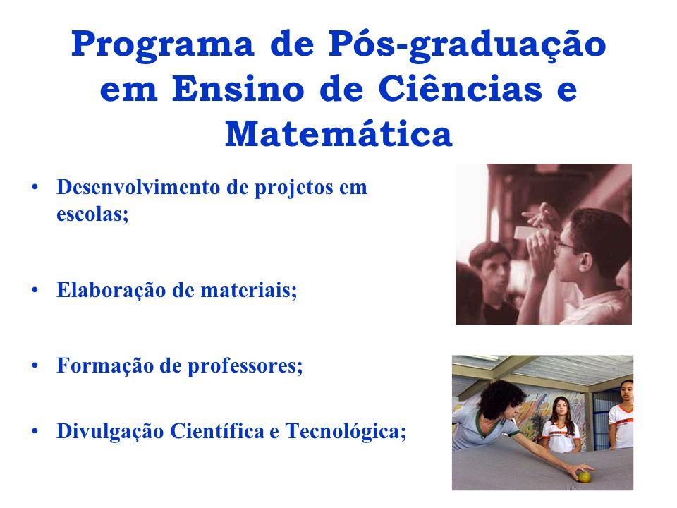 Programa de Pós-graduação em Ensino de Ciências e Matemática