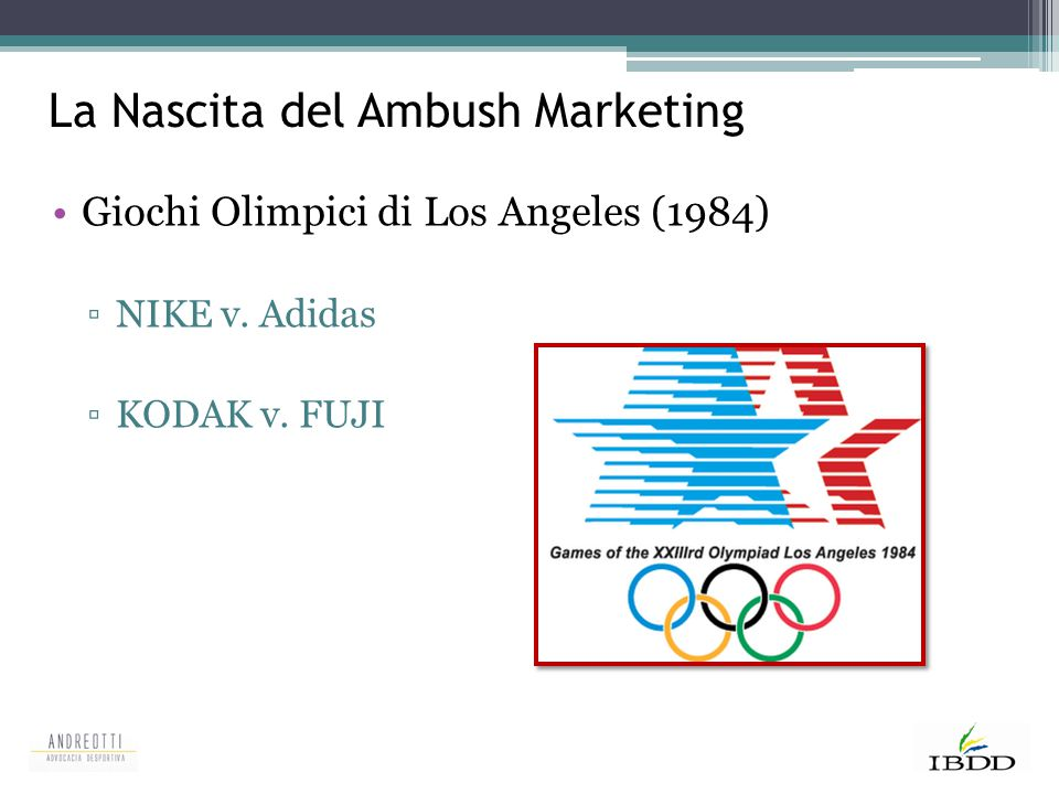 La Nascita del Ambush Marketing