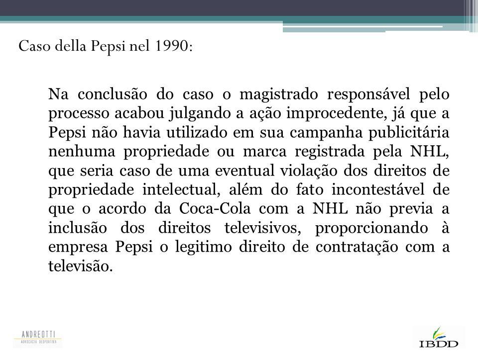 Caso della Pepsi nel 1990: