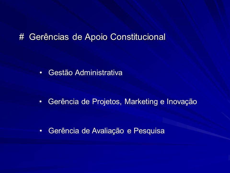 # Gerências de Apoio Constitucional