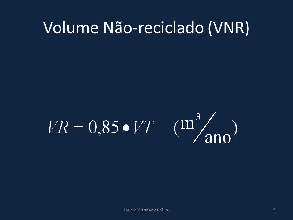 Volume Não-reciclado (VNR)