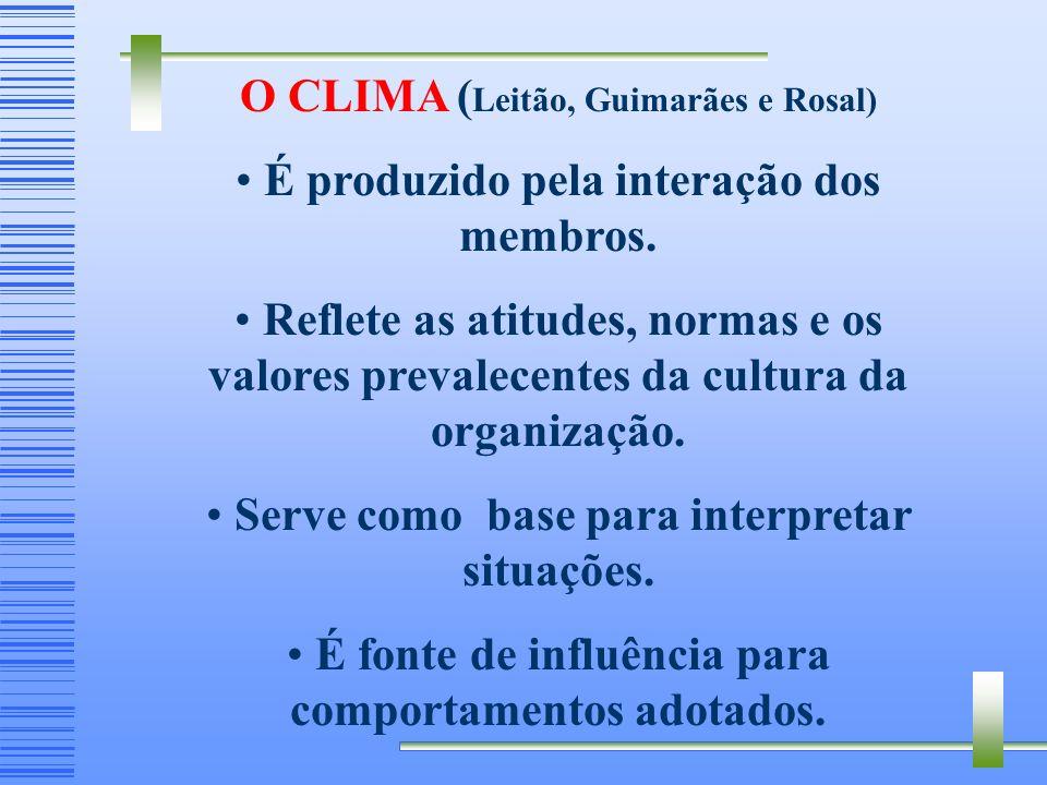 O CLIMA (Leitão, Guimarães e Rosal)
