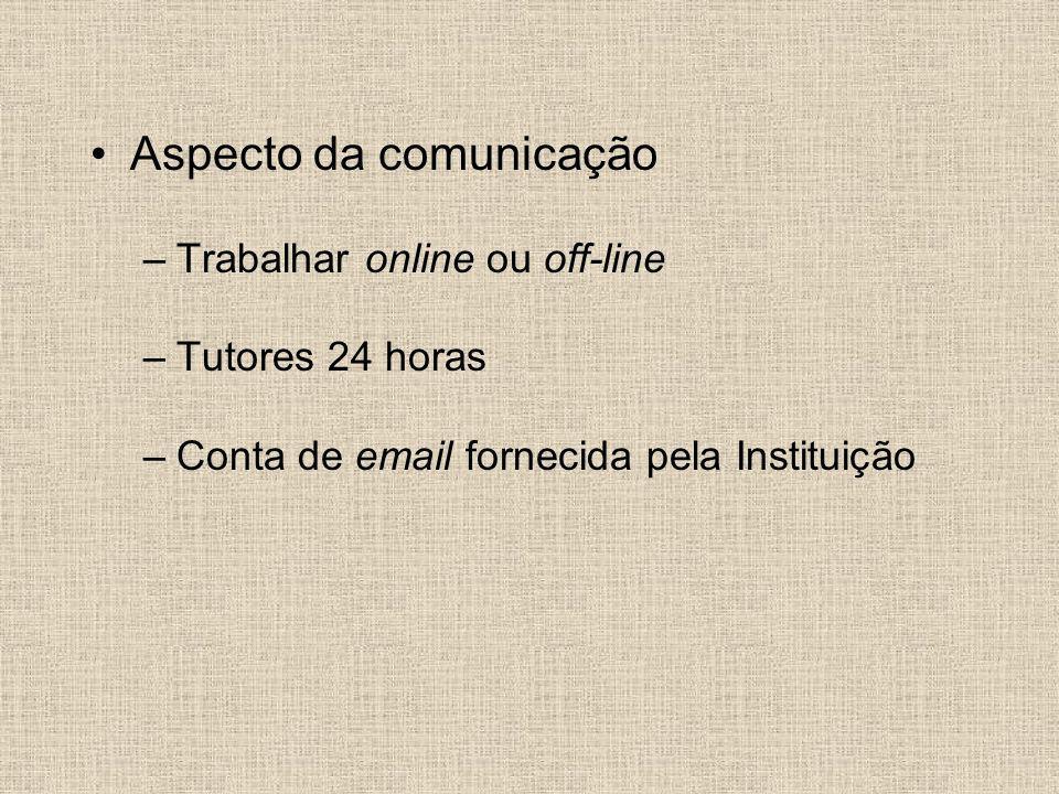 Aspecto da comunicação