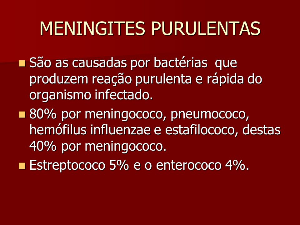 MENINGITES PURULENTAS