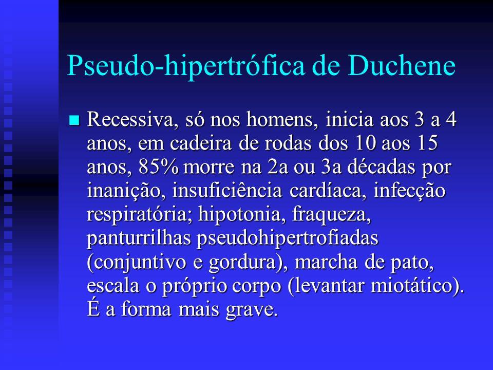 Pseudo-hipertrófica de Duchene