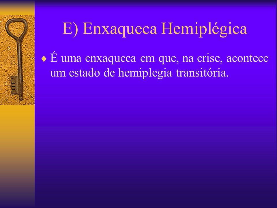 E) Enxaqueca Hemiplégica