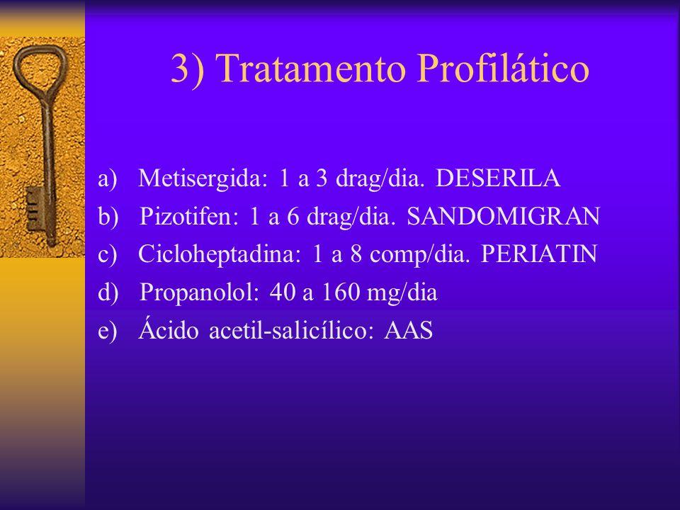 3) Tratamento Profilático