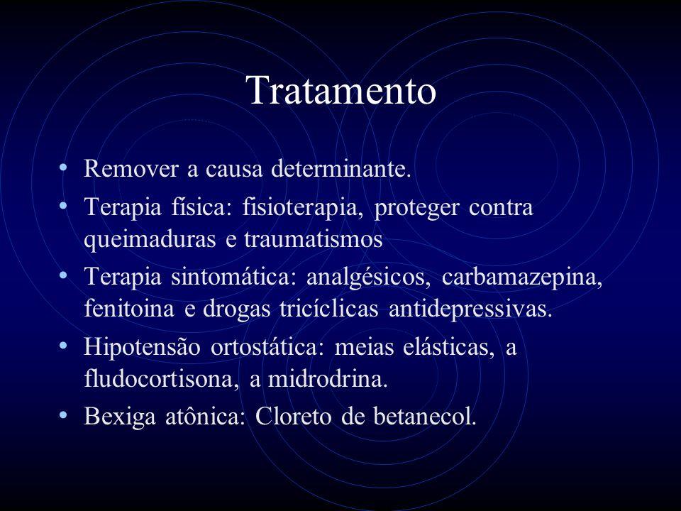 Tratamento Remover a causa determinante.