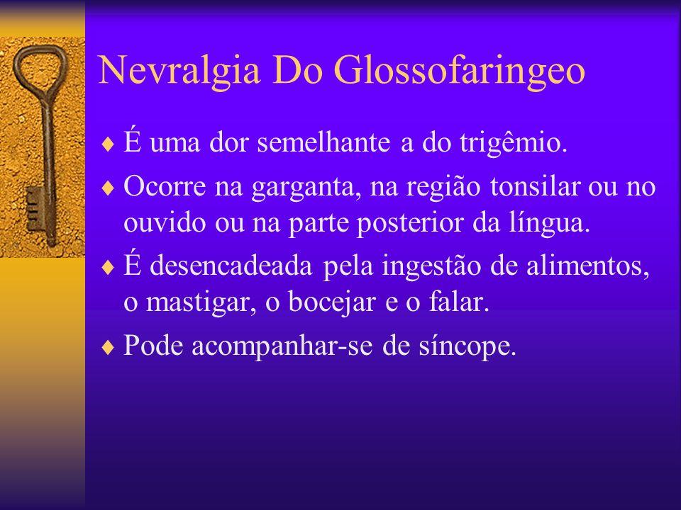 Nevralgia Do Glossofaringeo