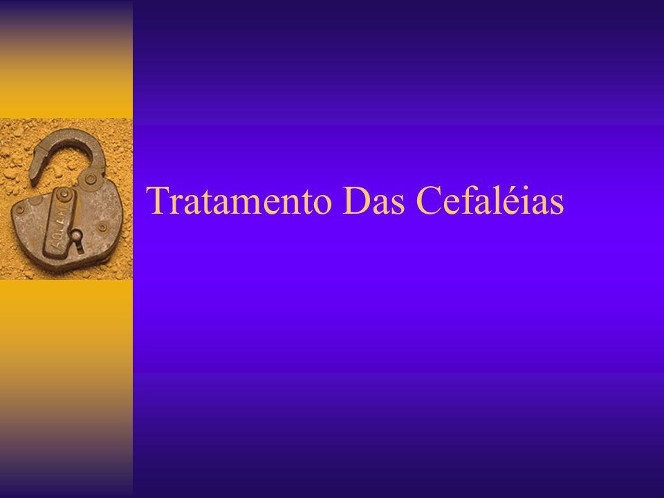 Tratamento Das Cefaléias