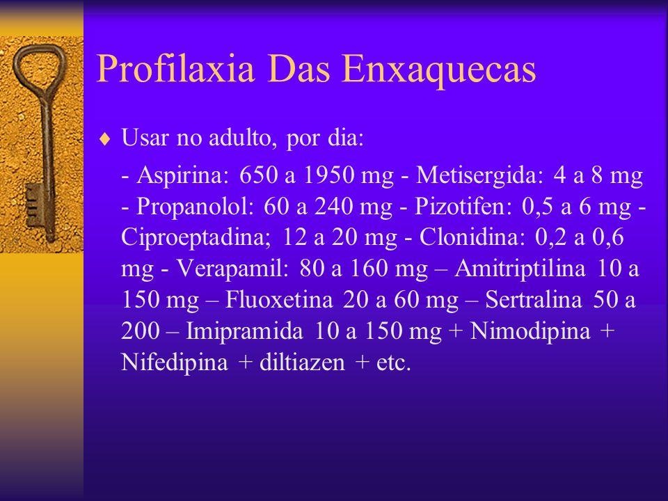 Profilaxia Das Enxaquecas