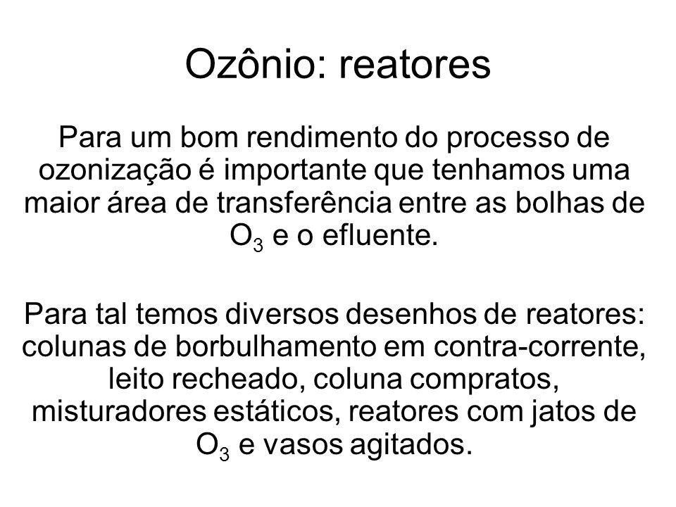 Ozônio: reatores