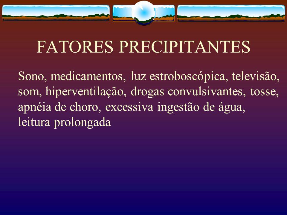 FATORES PRECIPITANTES