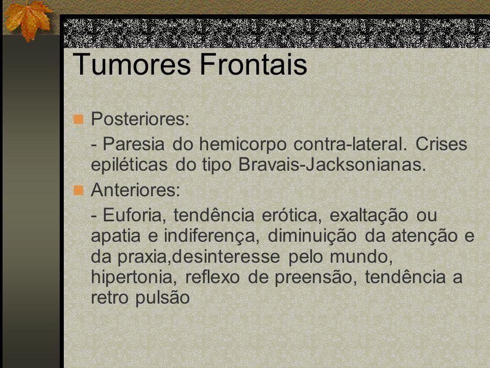 Tumores Frontais Posteriores: