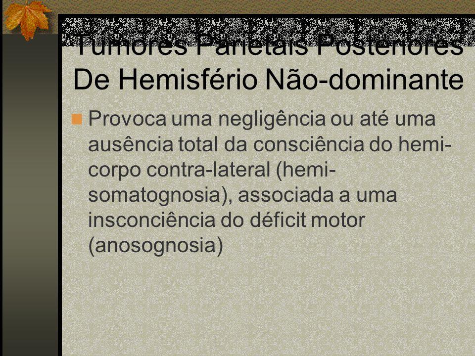 Tumores Parietais Posteriores De Hemisfério Não-dominante