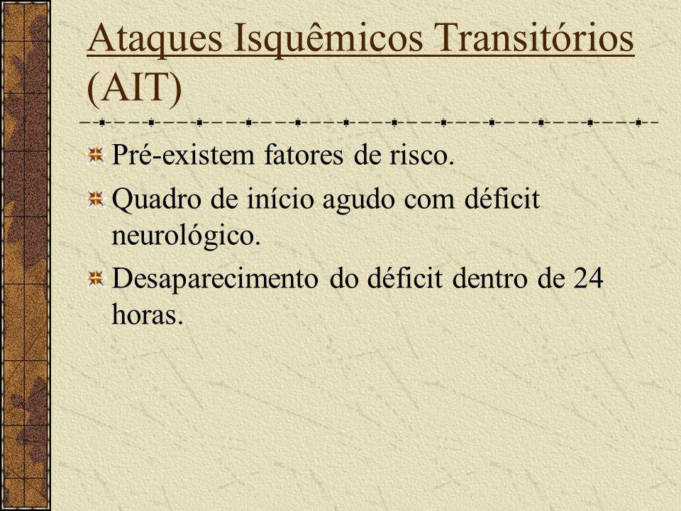 Ataques Isquêmicos Transitórios (AIT)