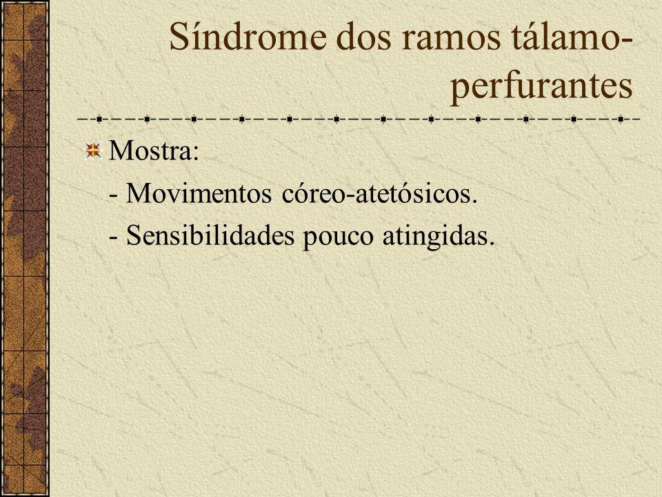 Síndrome dos ramos tálamo-perfurantes