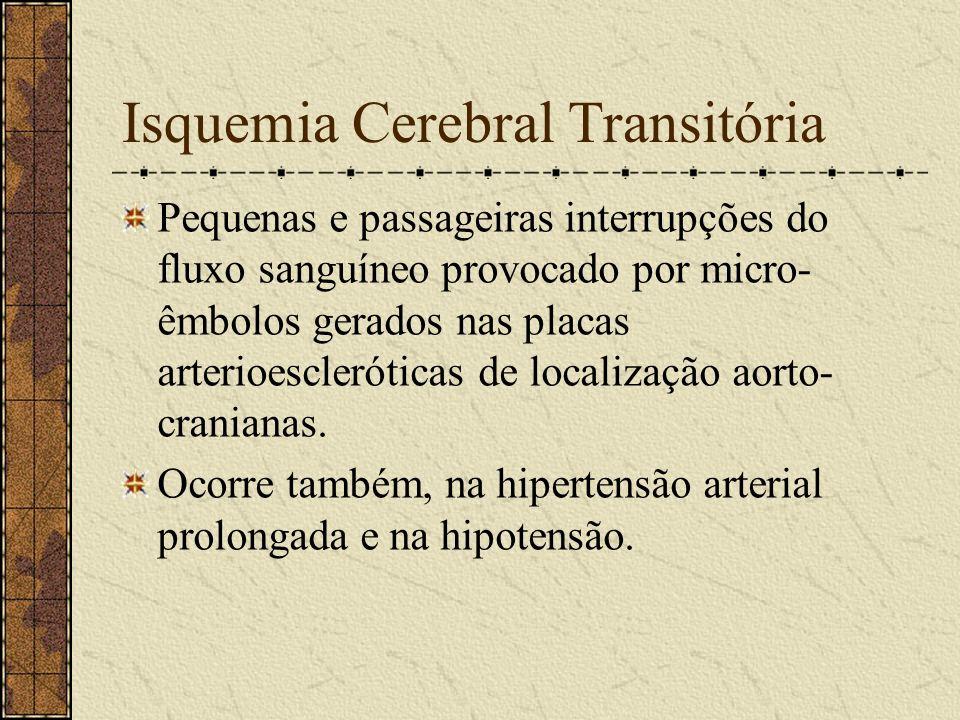 Isquemia Cerebral Transitória