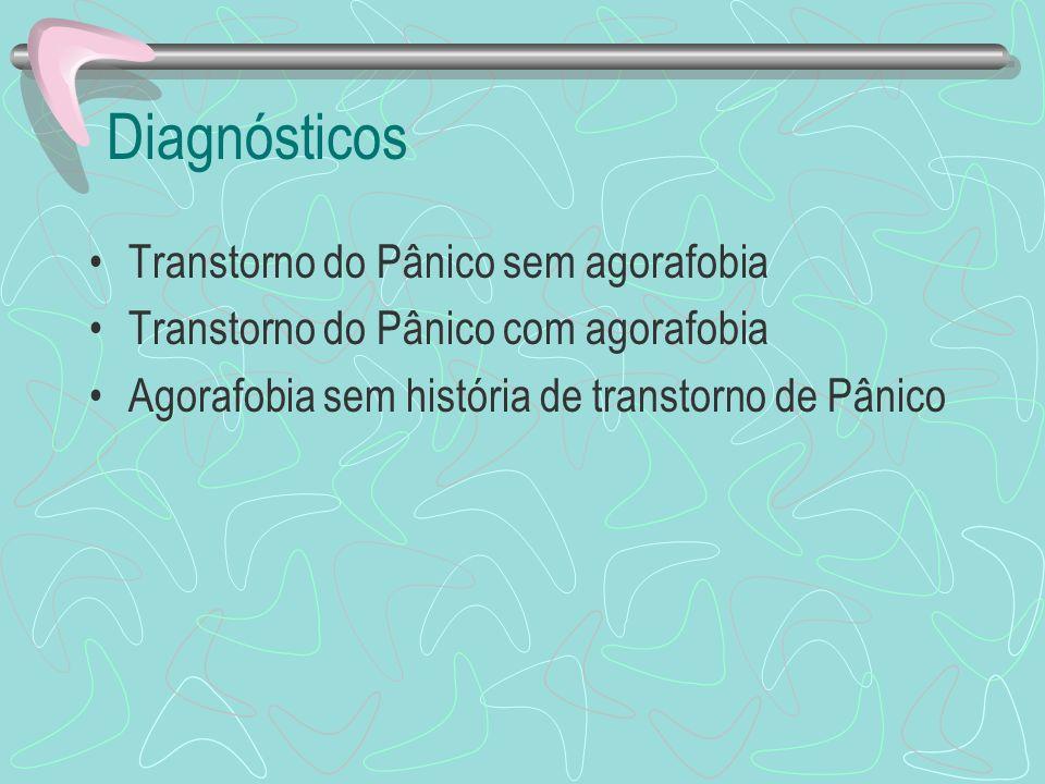 Diagnósticos Transtorno do Pânico sem agorafobia
