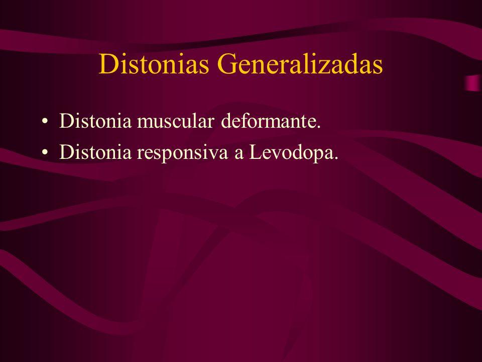Distonias Generalizadas