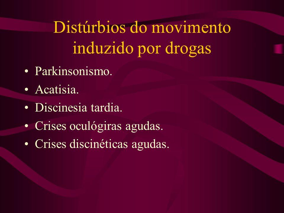 Distúrbios do movimento induzido por drogas