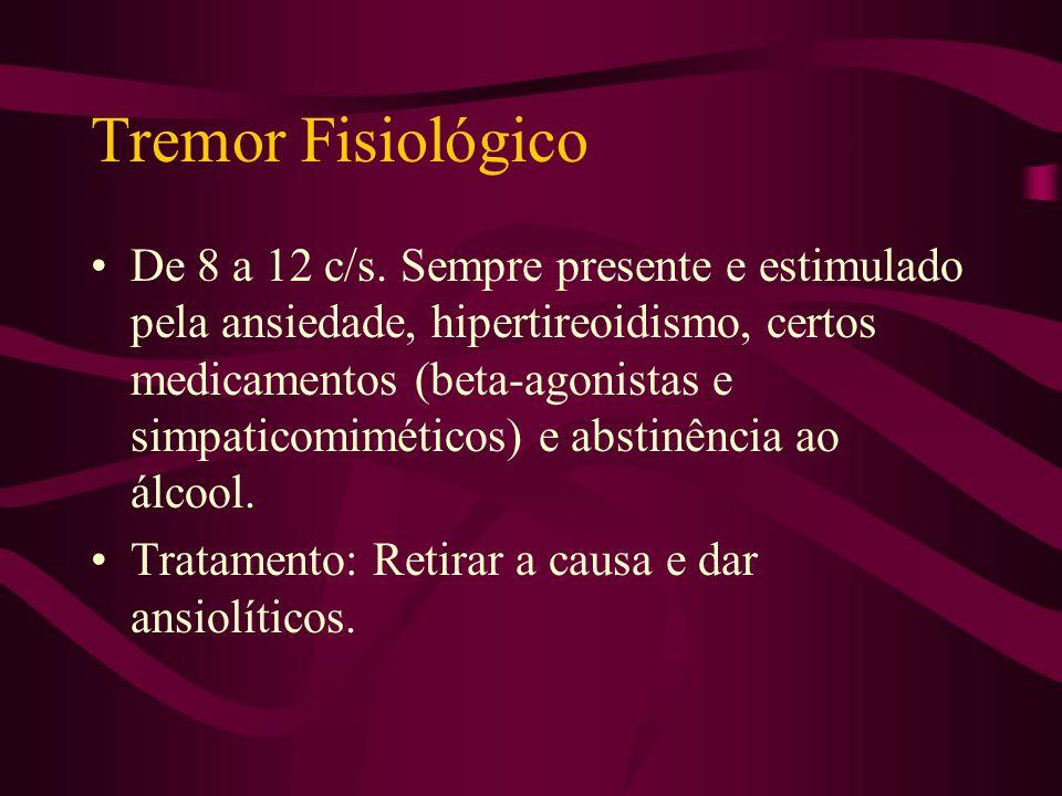 Tremor Fisiológico