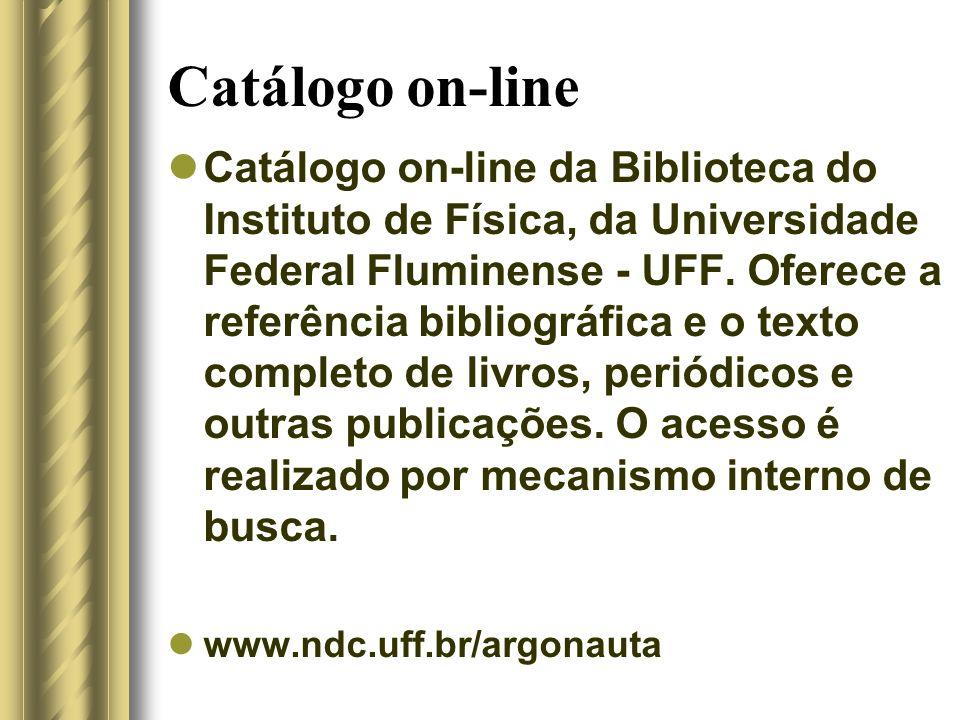 Catálogo on-line